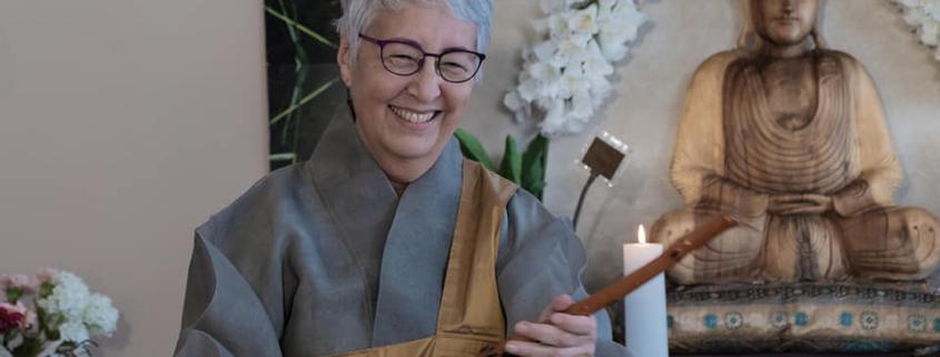 Zen Master Hyon Ja (Jo-Alma Potter)